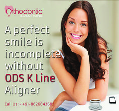 Choose ODS K Line Clear Aligner and get that smile on your face back again #ODS #KLineClearAligner website:- orthodonticsolutions.in Call Us :- 91-8826843683