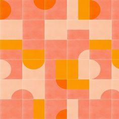 60s Patterns, Tile Patterns, Print Patterns, Retro Wallpaper, Pattern Wallpaper, Retro Pattern, Pattern Design, Retro Color Palette, Image Deco