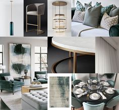 Moodboard of the week. Project Jade. The concept moodboard for the FF&E project in Holland park. #moodboard  #1508london #interiordesign #luxury