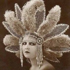 Vintage 1920s Headdress
