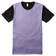 Ultra violet purple geometric mesh men's All-Over-Print panel T-Shirt apparel by #PLdesign #style #fashion #pantone @zazzle