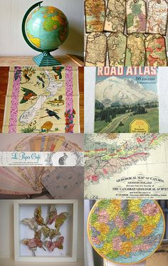 --Pinned with TreasuryPin.com  A Vintage World