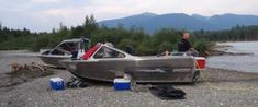 Exact Welding: Aluminum jet boats, fabrication, welding in Prince George BC.
