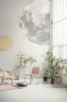 Papier peint Lune | WearLemonade.com