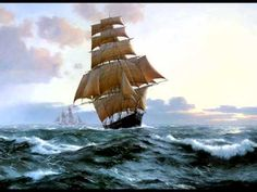 Enya:The Longships.It refers to Viking ships, not the tall ships in the video,but it's the song that matters! Music Mix, Sound Of Music, My Music, Celtic Music, Easy Listening, Secret Places, Film Music Books, Tall Ships, My Favorite Music