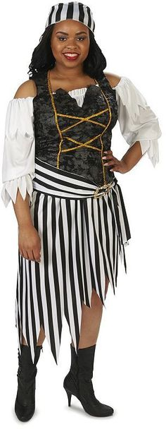 Plus Size Adult Plus Pretty #Pirate Princess Costume - |#Halloween Costumes for plus size gals