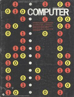 Possibly the coolest computer magazine covers ever created... - AnotherDesignBlog.