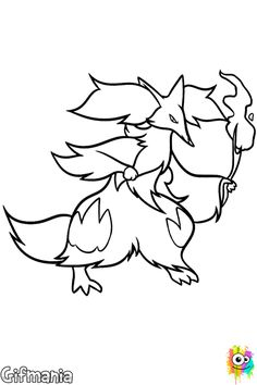 Pokemon Coloring Pages 61