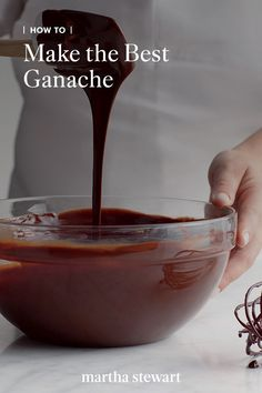 Think of it as the gift that keeps on giving. Start with our easy and irresistible chocolate ganache recipe, then adapt it for all kinds of uses. Ganache Frosting, Whipped Frosting, Ganache Recipe, Chocolate Molds, Chocolate Ganache, Chocolate Desserts, Melting Chocolate, Cake Away, Brownie Cake