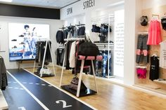 Active In Style flagship store by Unibox London  UK