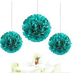 Since ® 12pcs Mixed 3 Sizes Teal Blue Tissue Paper Pom Po... https://www.amazon.com/dp/B01D62T4M8/ref=cm_sw_r_pi_dp_x_LsBXybEC1Q80H