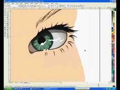 Corel Draw - Kylie Minogue in Vector