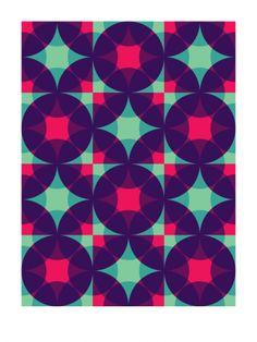 Feuerwerk #2 (2009) - Geometric Art Prints by Gary Andrew Clarke