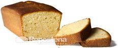 Bizcocho de queso marcarpone y mantequilla con aroma de vainilla y limón