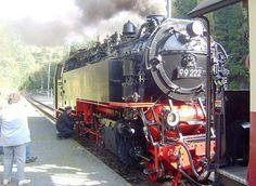 Die Lok der Brockenbahn