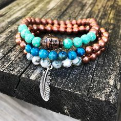 Copper collection #comingsoon www.newreignco.com http://ift.tt/2ljDkKI  #newreignco #sale #beadedbracelets #newdesigns #getyourstoday #armcandy #beads #style #fashion #mensfashion #womensfashion #designer #stretchbracelets #accessories #womensaccessories #boston #jewelry #shop #beadedjewelry #menwithstyle #handmade #madeintheusa #buddha #feather #etsyshop