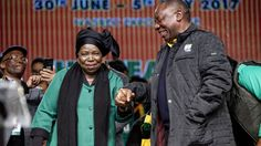 Could top-six election be uncontested?  Reaching out: There is a move to accommodate both Nkosazana Dlamini-Zuma and Cyril Ramaphosa in the ANC top six. (Oupa Nkosi)