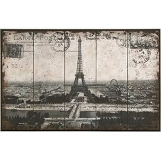 #Paris #Wall #Art - black and white metal - French-inspired style for your decor.
