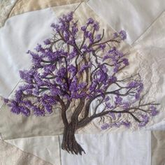 Embroidered Tree.