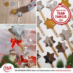 Für jeden findet sich ein Geschenk unterm Baum! Aber wie kennt man die Geschenke auseinander? Mit diesen selbstgemachten, kreativen Geschenkanhängern haben die Kids der VS Reindlmühl in der Nachmittagsbetreuung die Nikolo-Sackerl beschriftet. Funktioniert aber natürlich genauso für Weihnachtsgeschenke! #iskmitmachtipps #bastelnfürweihnachten #bastelmitkindern #geschenkebeschriften #isknabe #nachmittagsbetreuung #DasBesteamNachmittag Christmas Ornaments, Holiday Decor, Craft Tutorials, Christmas Presents, Tree Structure, Homemade, Creative, Christmas Jewelry, Christmas Decorations