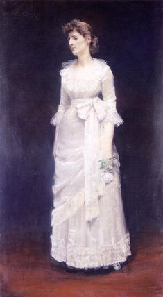 The White Rose, aka Miss Jessup - William Merritt Chase