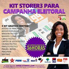 Kit Campanha Política 2016 - Store R3