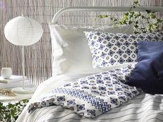 SOMMAR 2017 dekbedovertrek   IKEA IKEAnederland IKEAnl nieuw dekbedovertrek slaapkamer slapen print zomer hip trendy decoratie accesoires bed kussen deken laken