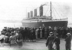 Sister ship to Titanic , White Star Liner RMS Olympic Rms Titanic, Titanic Real, Titanic Museum, Titanic History, Titanic Photos, Ancient History, Titanic Deaths, Titanic Model, Belfast