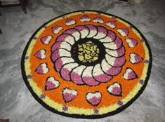 Best and beautiful Onam Pookalam Designs and pattern