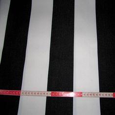 Bistro Stripe | Black and White Furnishings $64
