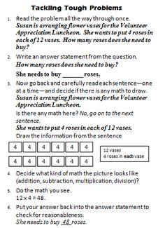 Math Coach's Corner: Tackling Tough Problems, Part 2