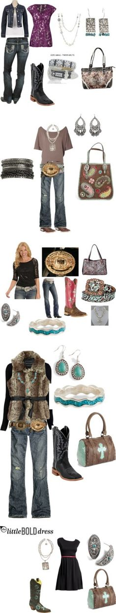 """National Finals Rodeo 2012"" by rodeorosecowgirlboutique on Polyvore"
