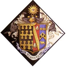 The hatchment of Michael Henry Blount St Margaret's Church - Mapledurham, OxfordshireHatchments - Funerary Coats of Arms and practices St Margaret, My Ancestors, Coat Of Arms, Middle Ages, View Image, Funeral, Vikings, Saints, Symbols