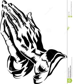 Praying Hands Coloring Page stick n poke Pinterest Praying