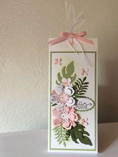 Kleine Verpackung für eine Tafel Lindt-Schokolade! Stampin Up!