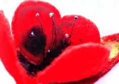 How To Make Paper, Poppies, Flora, Wax, Seeds, Recycling, Vintage Fashion, Felt, Brooches
