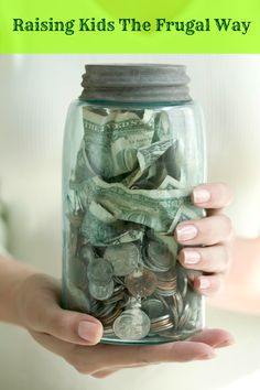 Raising Kids the Frugal Way -- money doesn't grow on trees and your kids should know that