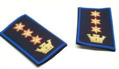 Polizia Municipale - Regione Sicilia - Coppia di Gradi tubolari - Dirigente Comandante (Codice: 90046124)