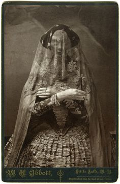 Morbid Anatomy: Cabinet Cards / Storydress II, Albumen Print Photographs of Life-size Paper Mache and Plaster Sculpture, Christine Elfman