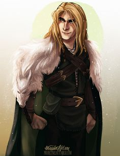Aedion Ashryver, Wolf of the North.