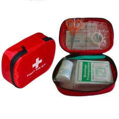 (12PCS) Outdoor Sports/Travel/Camping Medical First Aid Kit