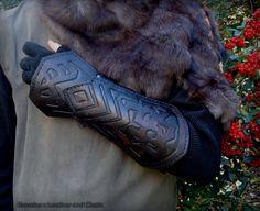 Thorin Oakenshield Bracers - Hobbit Movie Costume by rassaku.deviantart.com on @deviantART