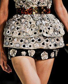 Fuck Yeah Fashion Couture | Alexander McQueen Spring-Summer 2013