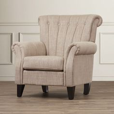 Fleetwood Channel-Backed Lounge Chair