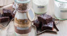 Brownie Backmischung im Glas Rezept