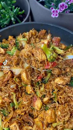 Asian Recipes, Healthy Recipes, Vegan Dinner Recipes, Ethnic Recipes, Keto Recipes, Health Dinner, Diy Food, Food Dishes, Rice Side Dishes