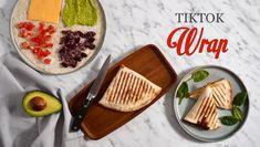 Tortilla wrap ze sociálních sítí - Kuchařka pro dceru Tortilla Wraps, Quesadilla, Bread, Food, Quesadillas, Brot, Essen, Baking, Meals