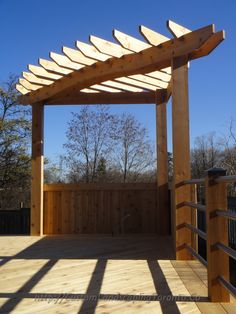 Pergola design depends on your style and the available space.