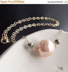 ON SALE Custom Made to Order  14k Kasumi Pearl by BijouxOdalisque