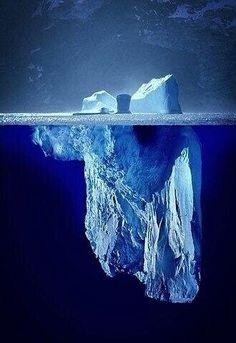 Tip of the Iceberg. Antarctica.